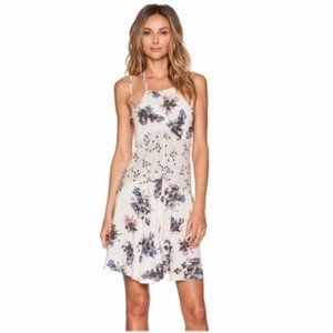 Free People NWT Cresent Slip Dress in Pearl Comb
